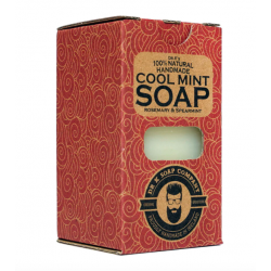 Dr. K's Handmade Cool Mint Body Soap XL 225g