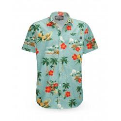 Liquor Brand Aloha Island Shirt