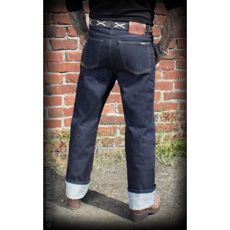Rumble59 Denim Greasers Gold