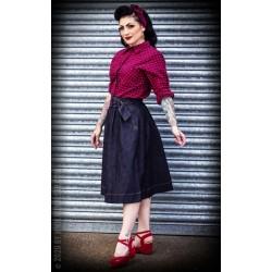 Rumble59 Denim Swing Skirt Rosie