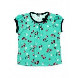 Six Bunnies Daisy Cherry Tshirt
