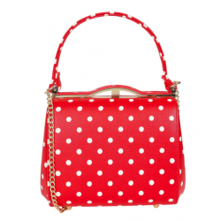 Collectif Carrie Polka Dots Bag