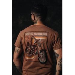 King Kerosin Tshirt Acid Wash Chopper