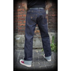 Rumble59 Jeans Raw Selvage Denim Double Back