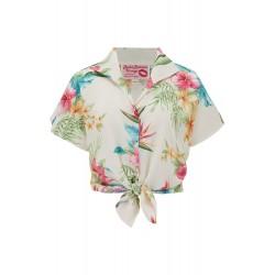 Maria Blouse Honolulu Vintage Style