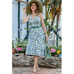 Miss Candyfloss Cosma-Gia Floral Summer Dress