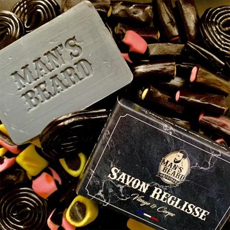 Man's Beard Savon Réglisse - Visage & Corps