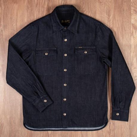 Pike Brothers 1943 CPO Shirt 12oz Indigo