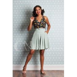 Miss Candyfloss 50s Hopi-Lou Floral Jumpsuit