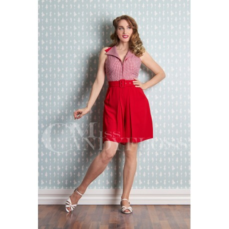 Miss Candyfloss 50s Luzana-Rose Jumpsuit