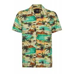 King Kerosin Hawaii Shirt Tropical Sea