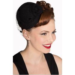 Banned Retro Marilyn Hat Black