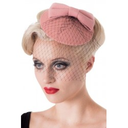 Banned Retro 50s Candice Hat Pink