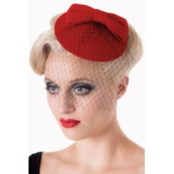 Banned Retro 50s Candice Hat Red