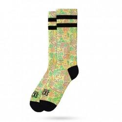 American Socks Tropical Vibe Mid High Unisex