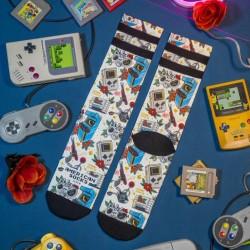 American Socks Game Over Mid High Unisex