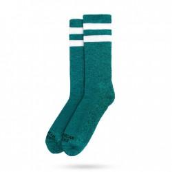 American Socks Turquoise Mid High Unisex