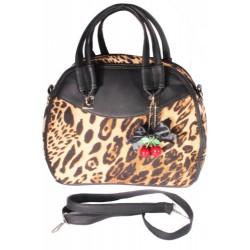 Leopard Retro Cherry Bag