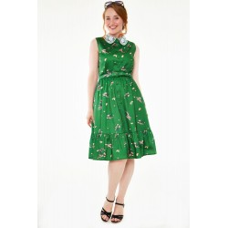 Voodoo Vixen 50s Loly Floral Dress