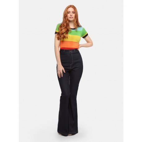Collectif Donna Rainbow Dreamer Jeans