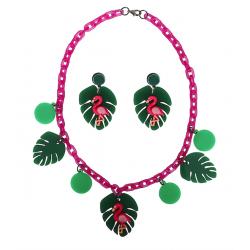 Collectif Flamingo Tropical Set