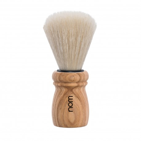 Alfred Pure Ash Natural Bristle Shaving Brush
