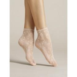 Dolly Leopard Socks Poudre