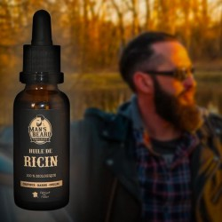 Man's Beard Huile de Ricin 30ml
