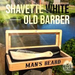 Man's Beard Shavette Bois Blanc Old Barber