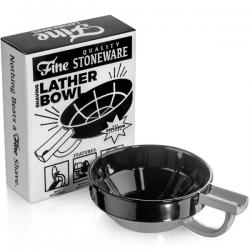 Fine - Lather Bowl Grey Black