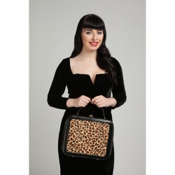 Collectif Tasha Leopard Bag