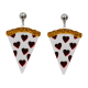 Collectif Pizza Lover Earrings