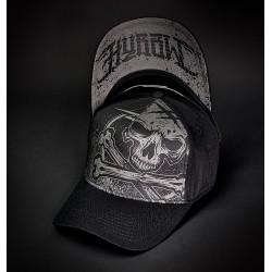 Hyraw Trucker Cap Grey Skull