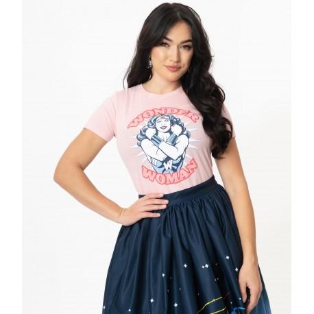 Unique Vintage Wonder Woman Retro Tshirt