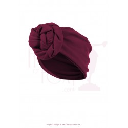 The House of Foxy 40s Style Turban Berry