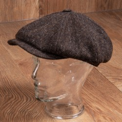 Pike Brothers 1928 Newsboy Cap Upland Brown