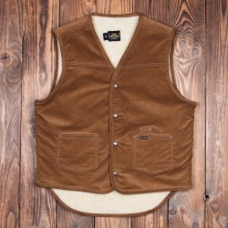Pike Brothers 1966 Rodeo Vest Cord Mud