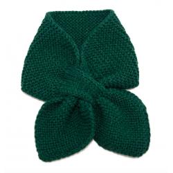 Banned Retro Fru Fru Knitted Scarf Green
