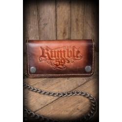 Rumble59 Leather Wallet Sunburst