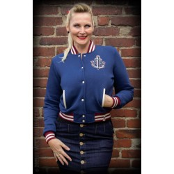 Rumble59 Sweat College Jacket Anchors Aweigh!